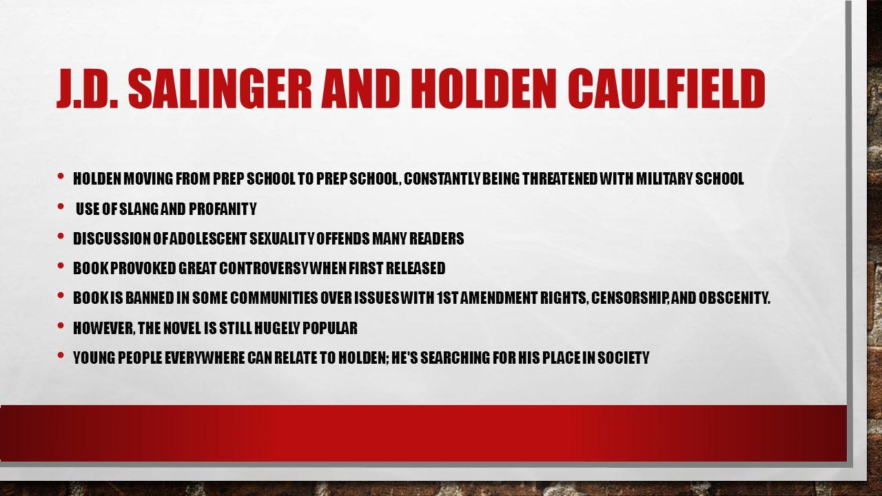J.D. Salinger and Holden CAulfield