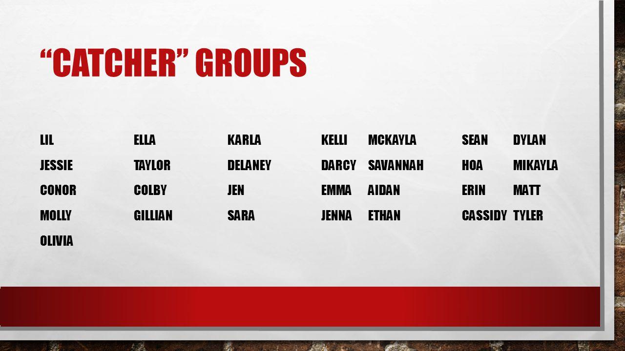 Catcher groups