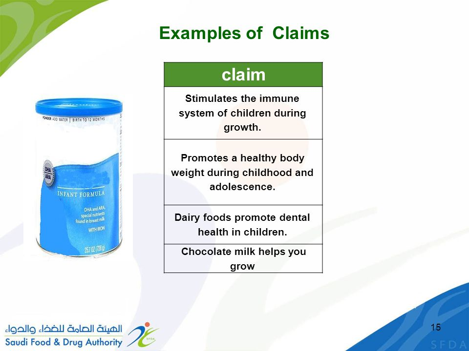 claim Examples of Claims