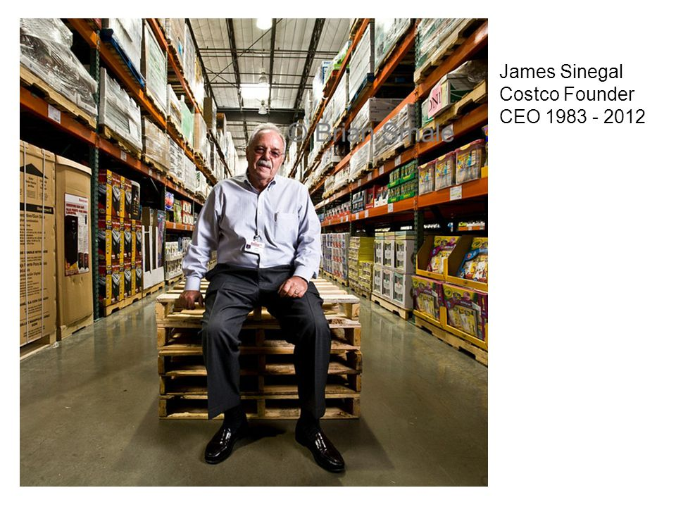 James Sinegal Costco Founder CEO 1983 - 2012