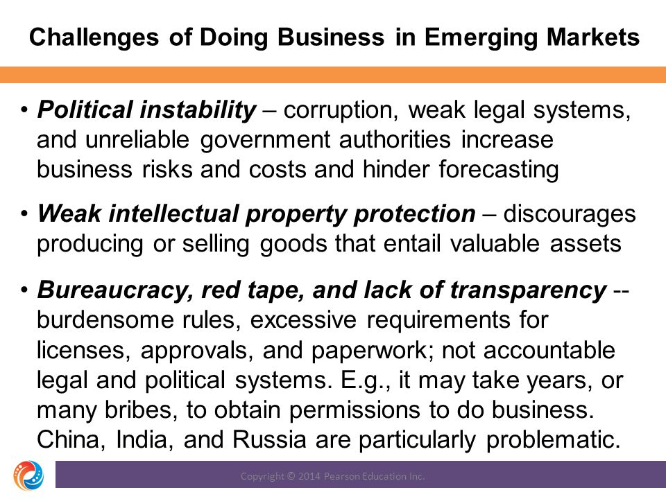 Challenges of Doing Business in Emerging Markets