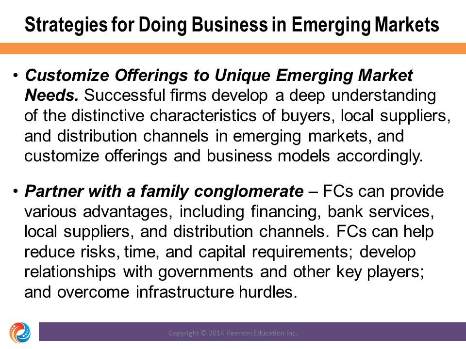 Strategies for Doing Business in Emerging Markets