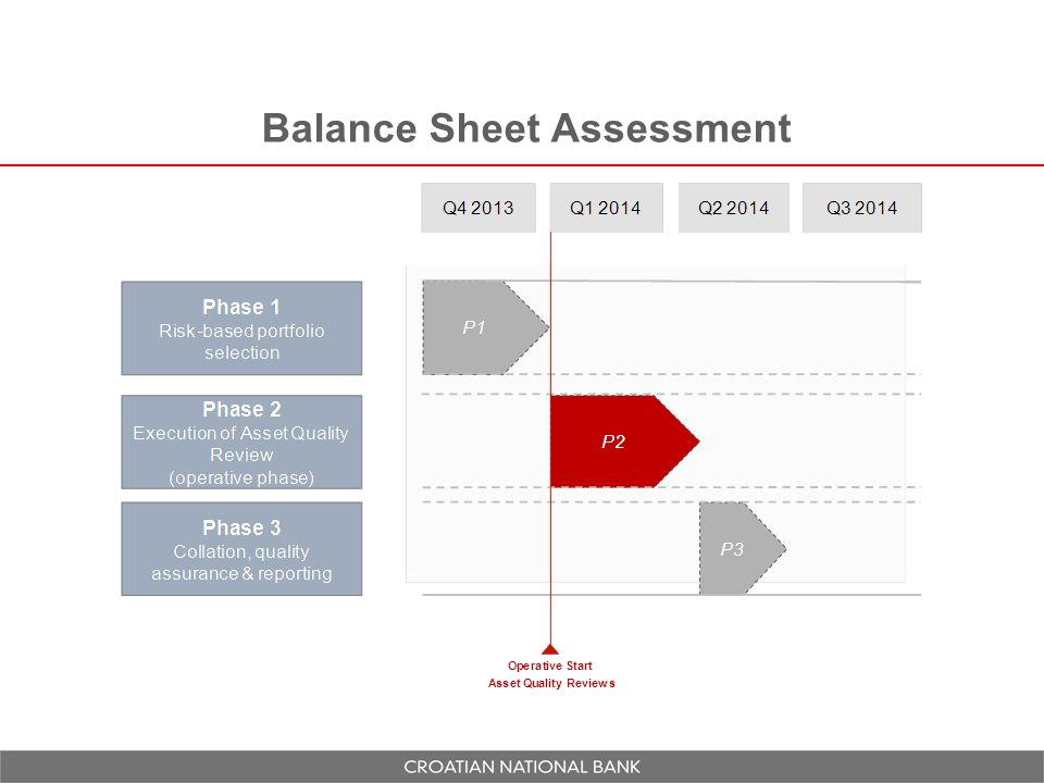 Balance Sheet Assessment