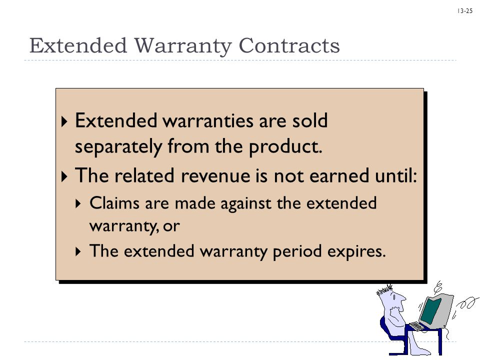 Extended Warranty Contracts
