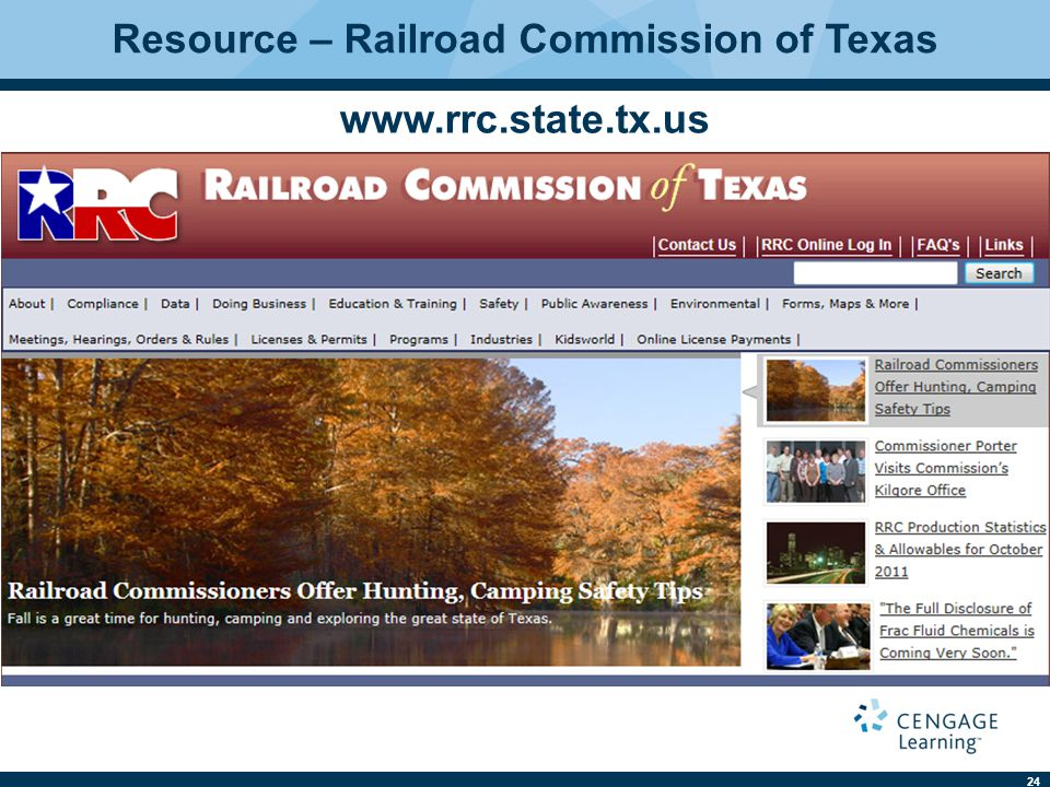 Resource – Railroad Commission of Texas