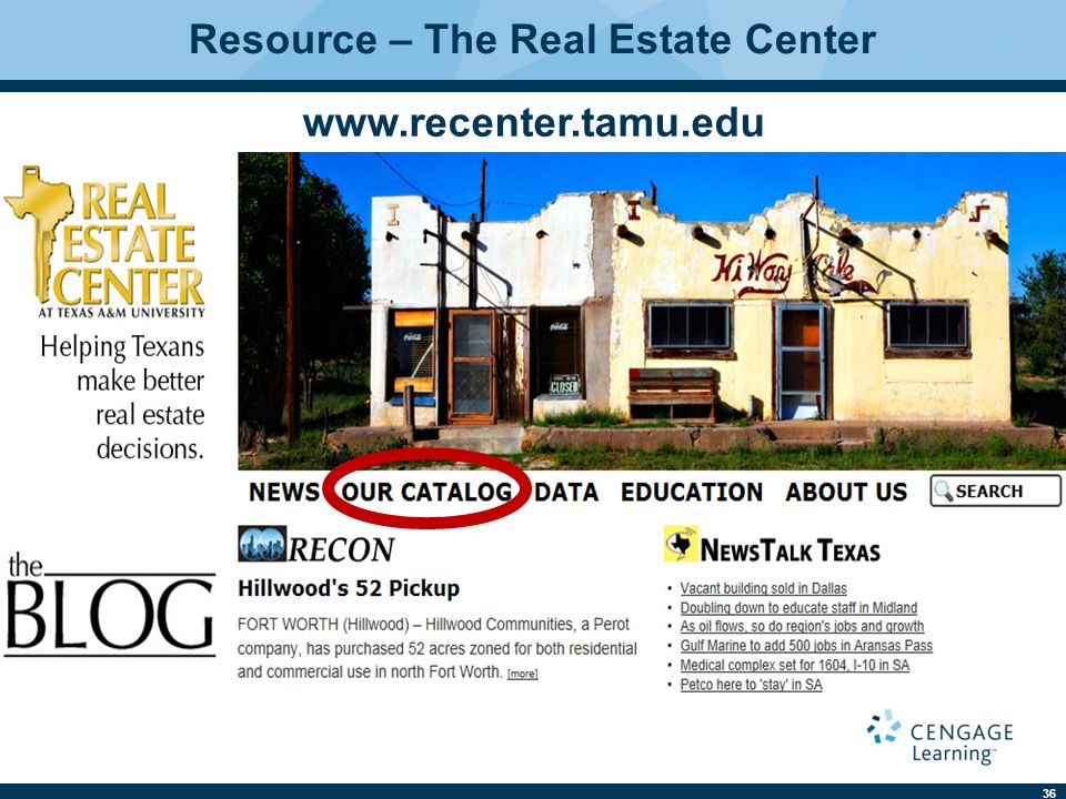 Resource – The Real Estate Center