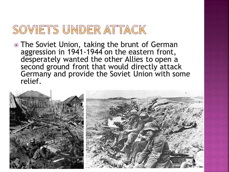 Soviets under attack