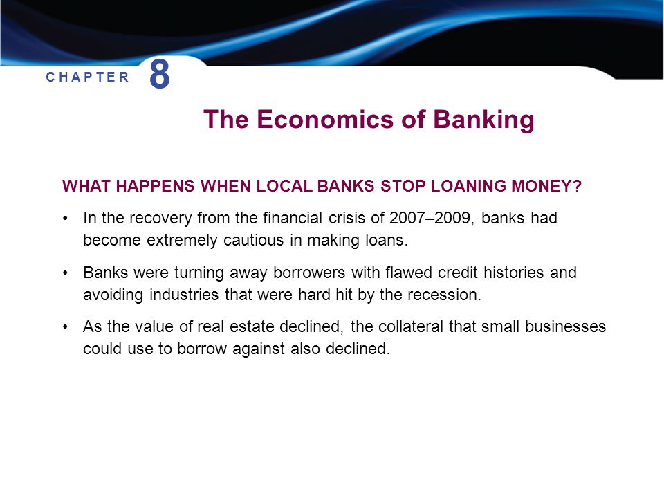 8 The Economics of Banking
