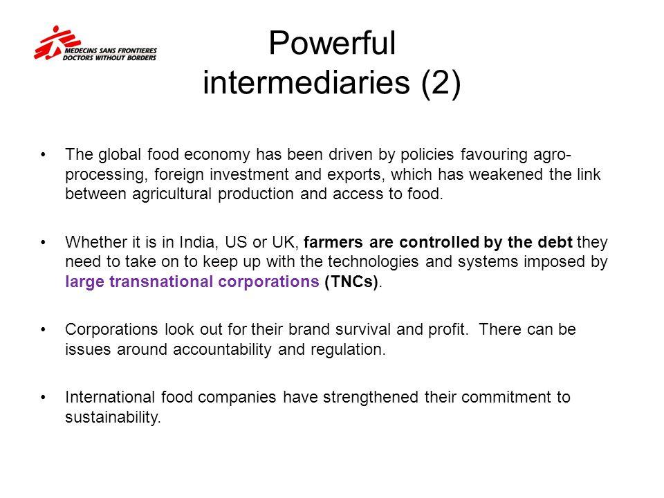 Powerful intermediaries (2)
