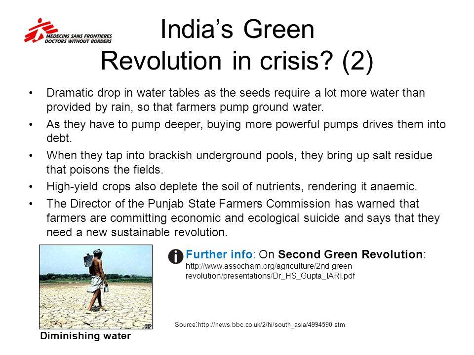 India's Green Revolution in crisis (2)