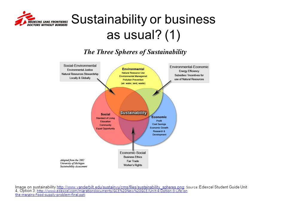 Sustainability or business as usual (1)