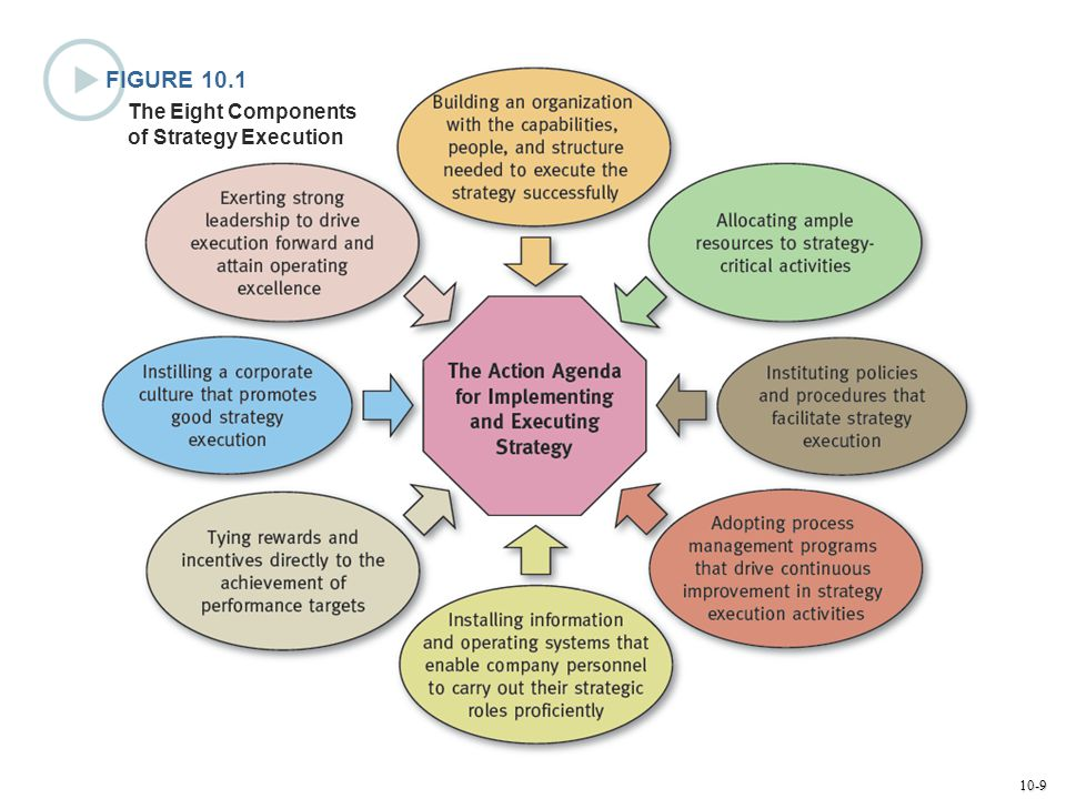 FIGURE 10.1 The Eight Components of Strategy Execution
