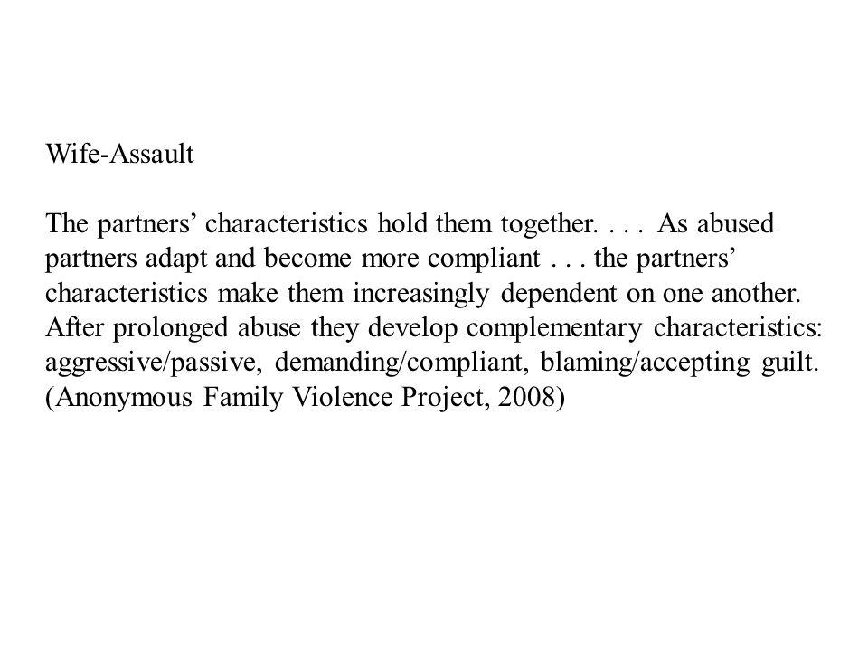Wife-Assault