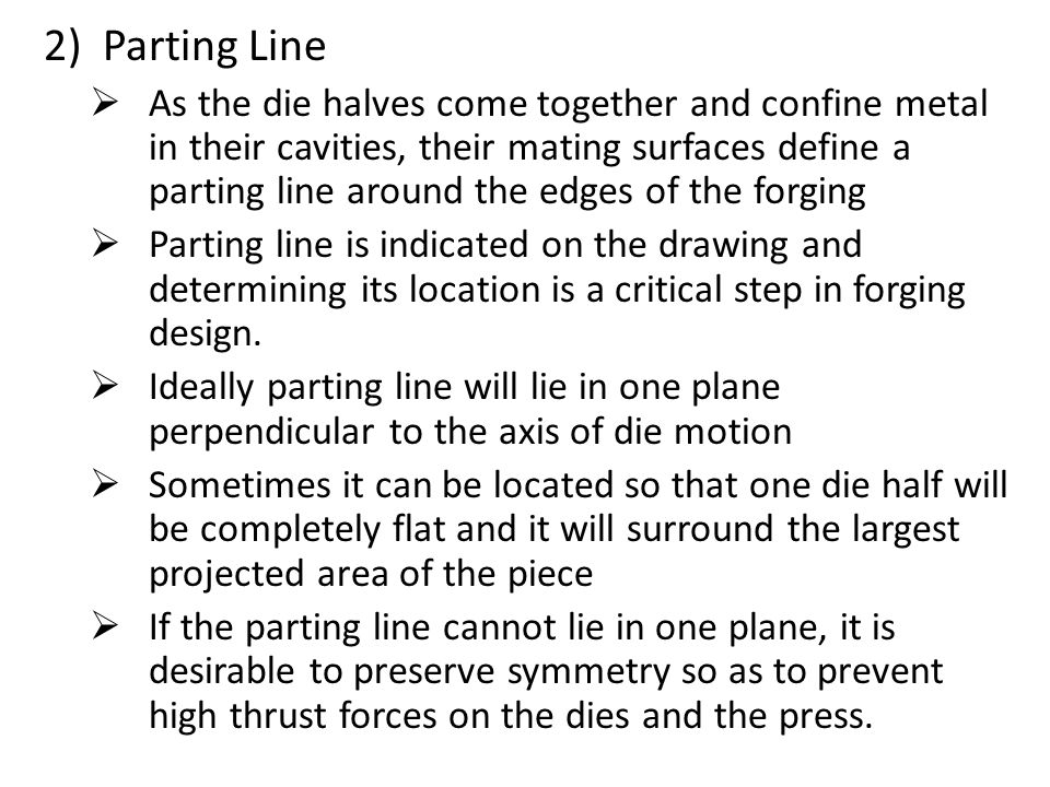 Parting Line