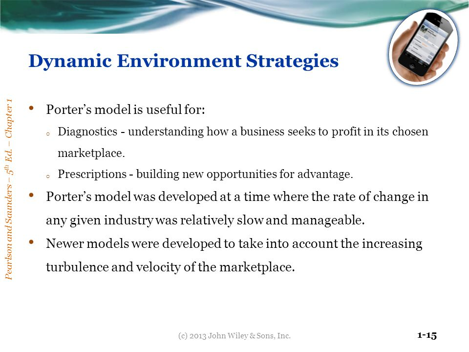 Dynamic Environment Strategies