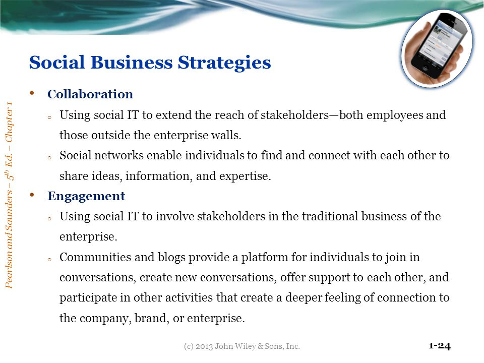 Social Business Strategies