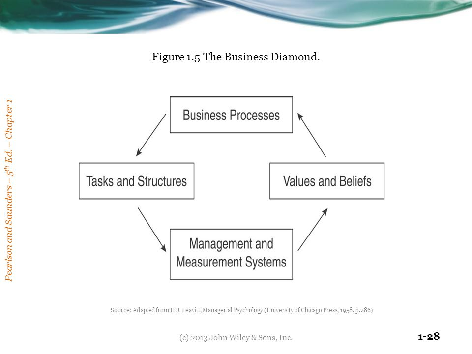 Figure 1.5 The Business Diamond.
