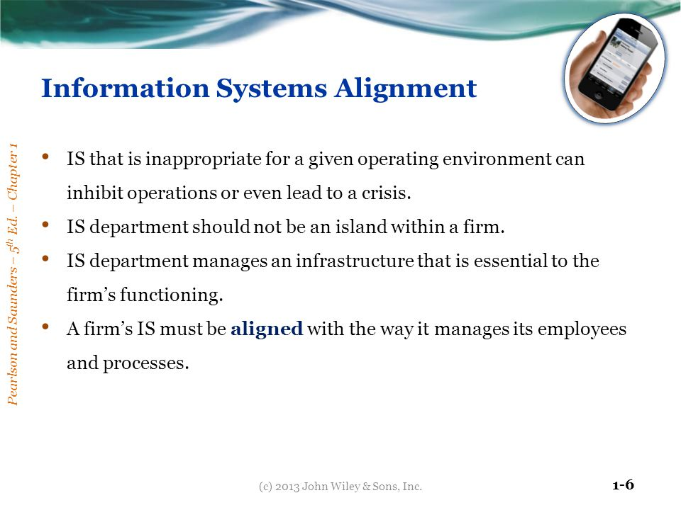 Information Systems Alignment
