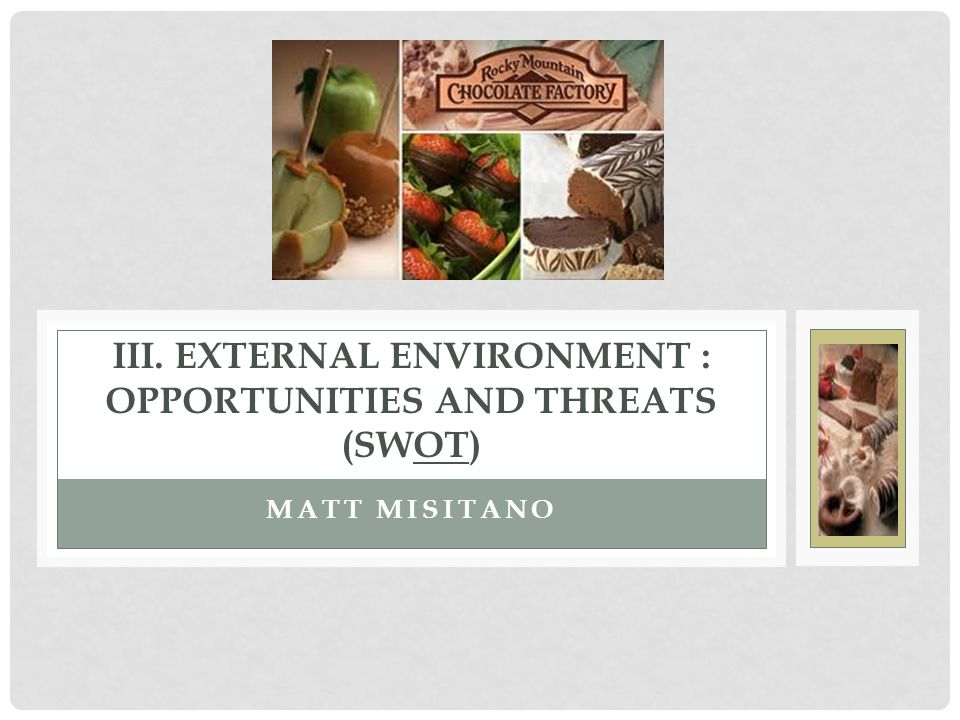 maxis external environment opportunities and threats Swot analysis (strengths, weaknesses, opportunities, and threats) is a method of assessing a business, its resources, and its environment doing an analysis of this type is a good way to better.