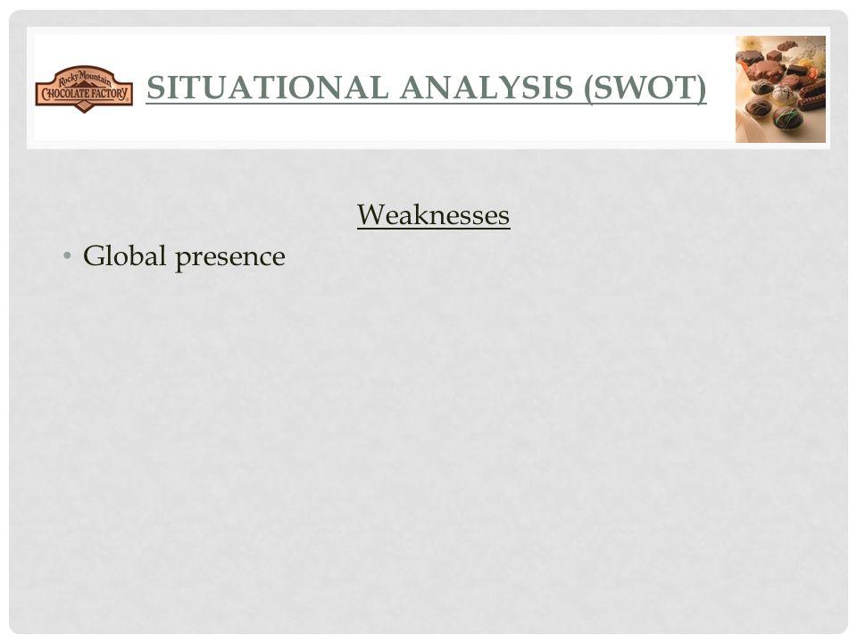 SITUATIONAL ANALYSIS (SWOT)