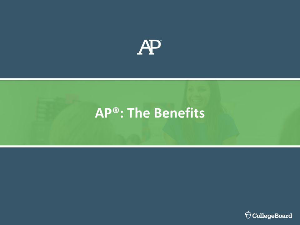 AP®: The Benefits Caren