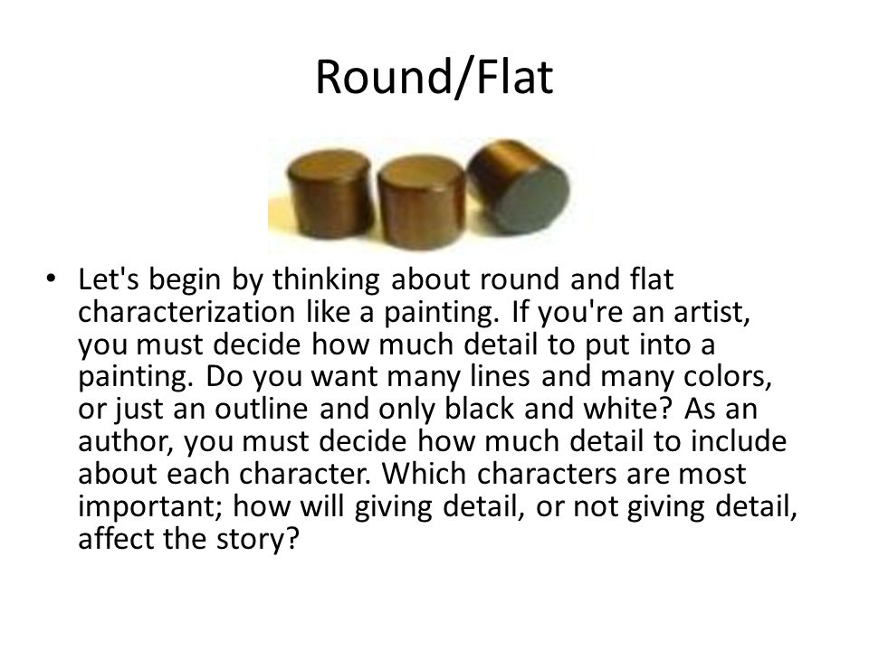 Round/Flat