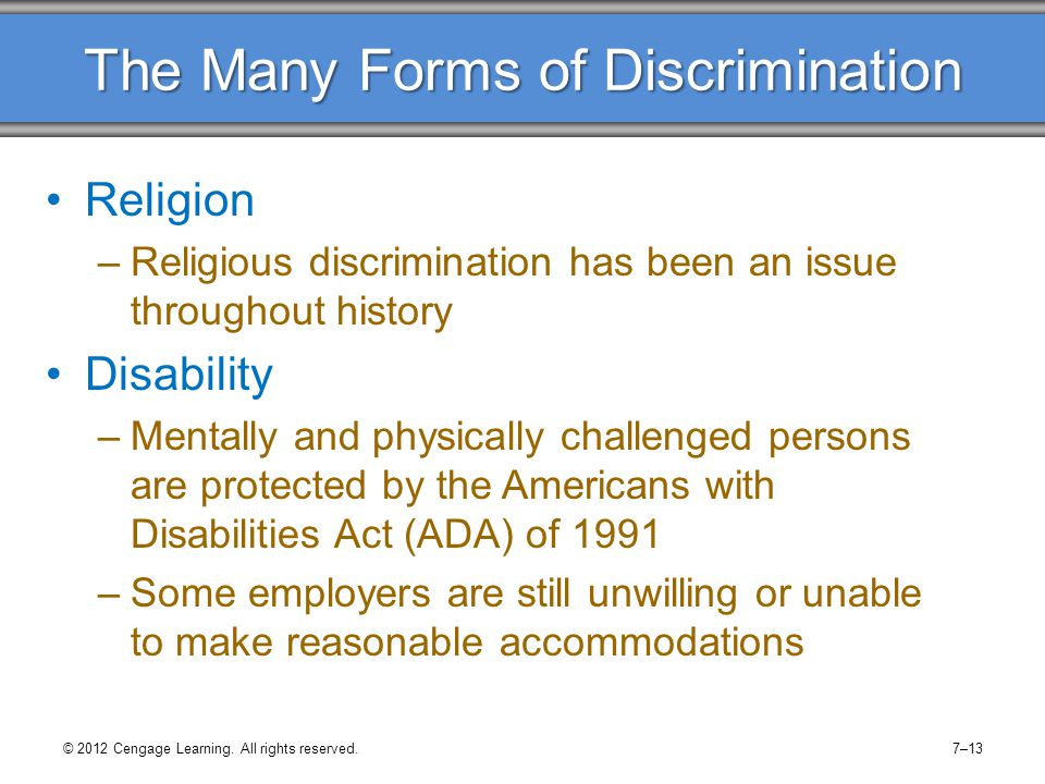 the issue of discrimination and harassment essay