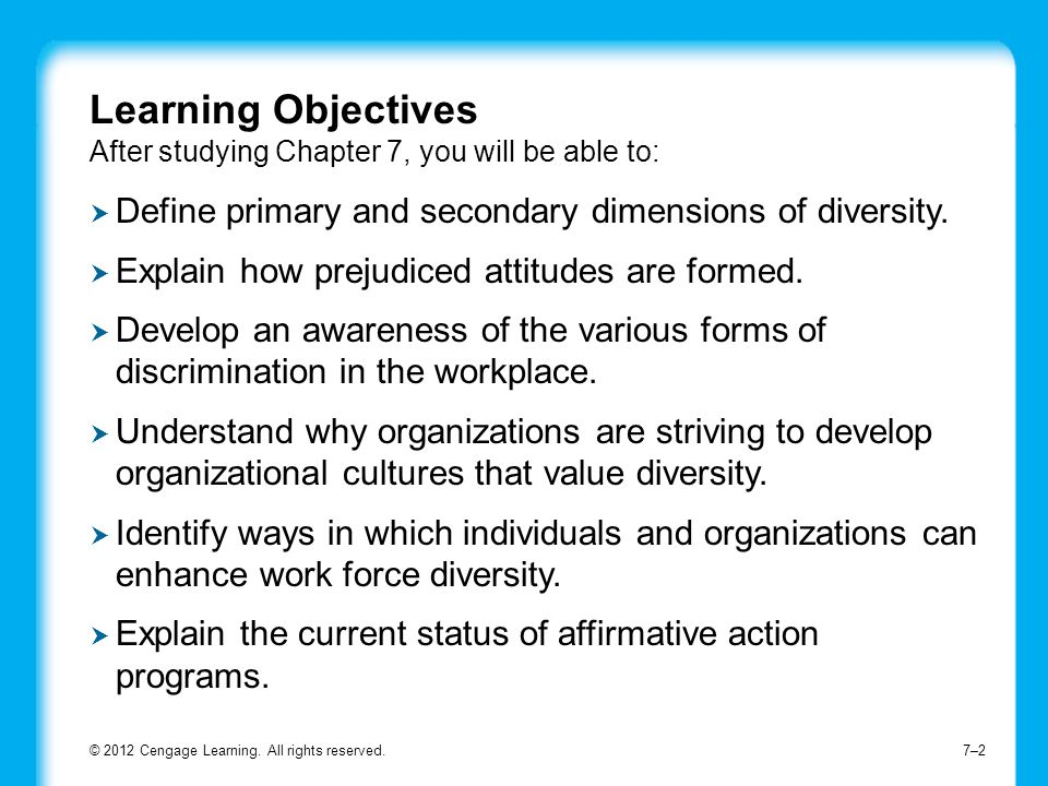 Define primary and secondary dimensions of diversity.
