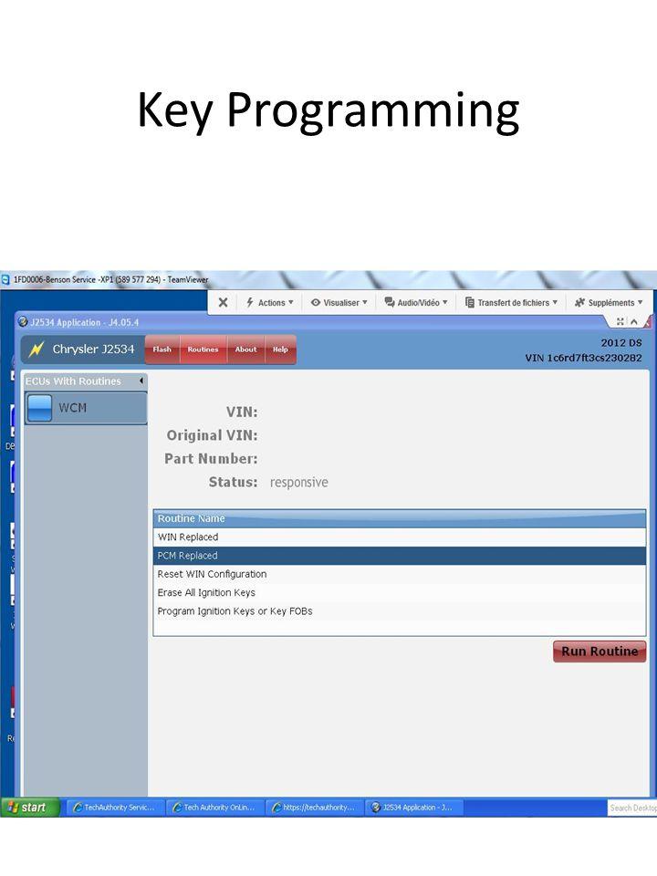 Key Programming