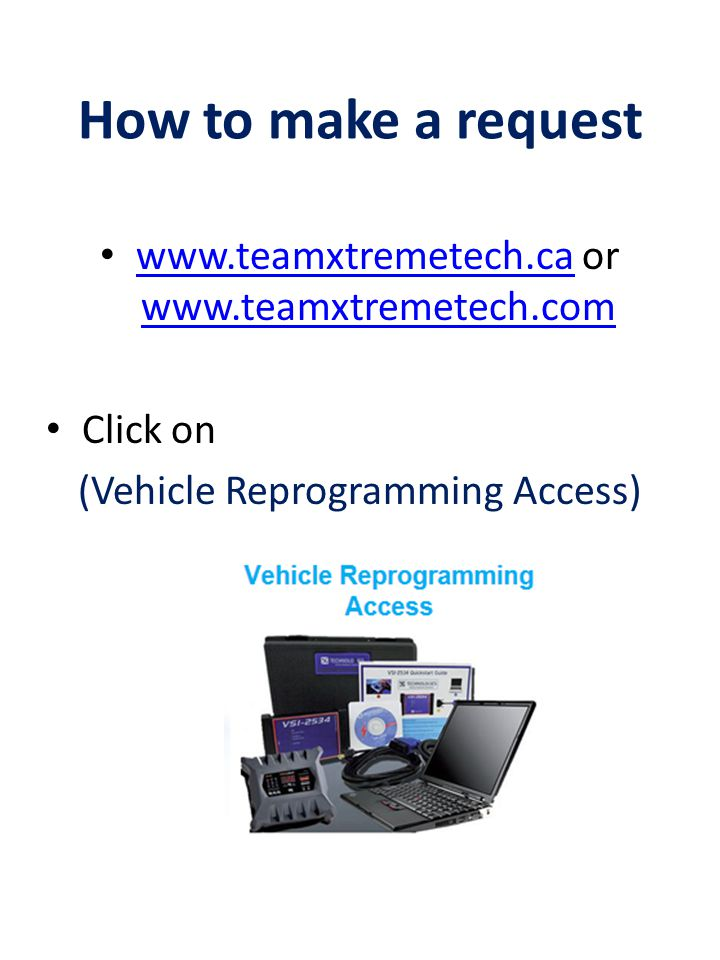 How to make a request www.teamxtremetech.ca or www.teamxtremetech.com