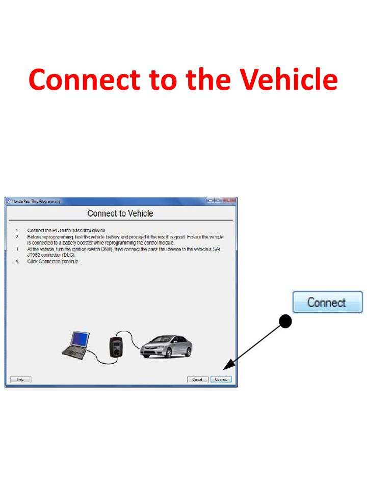 Connect to the Vehicle