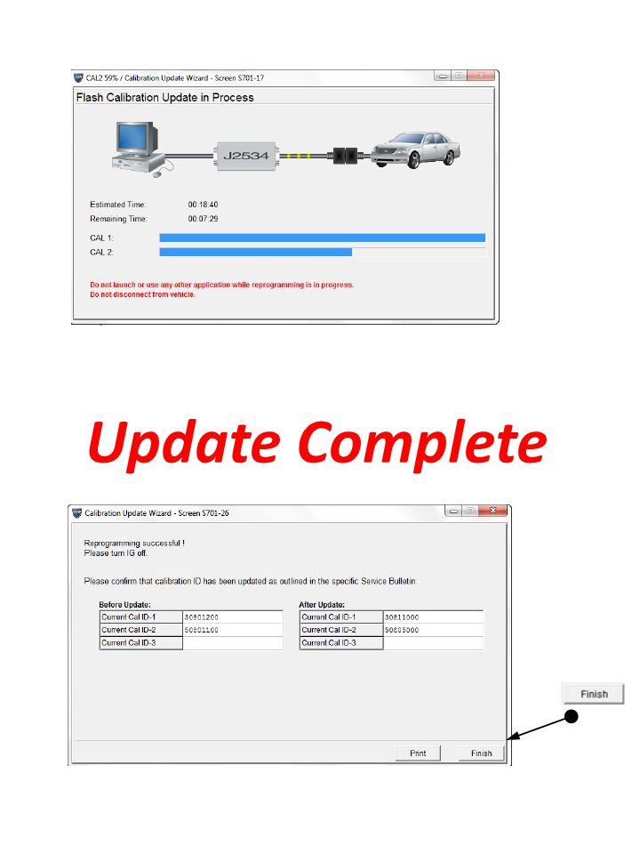 Update Complete