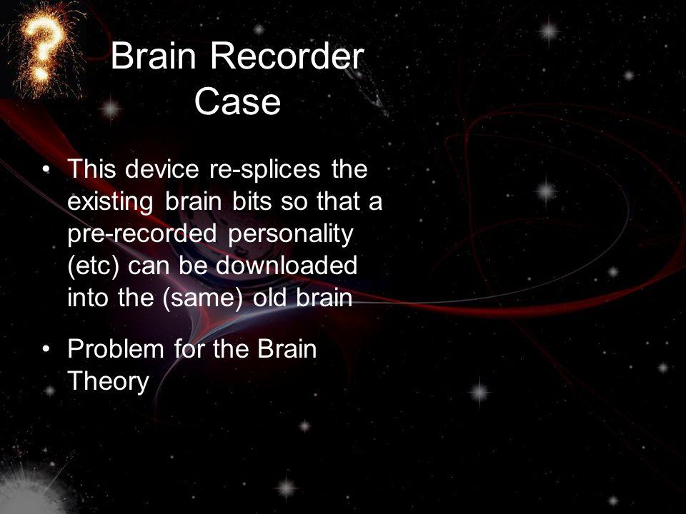Brain Recorder Case