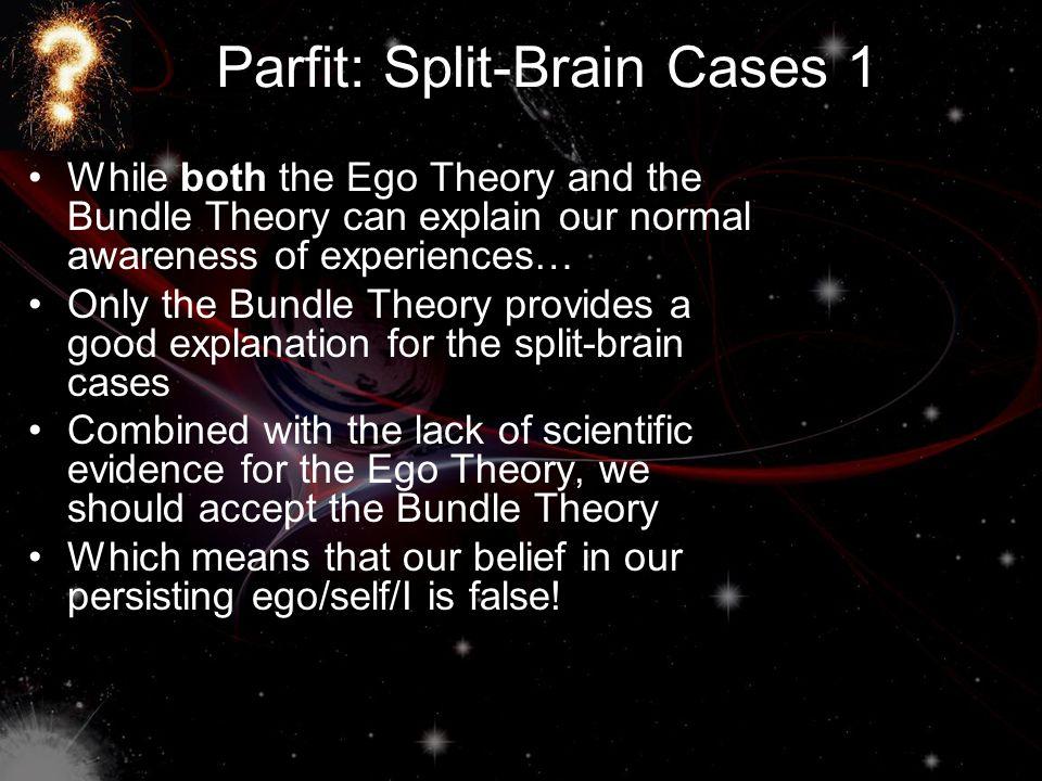 Parfit: Split-Brain Cases 1
