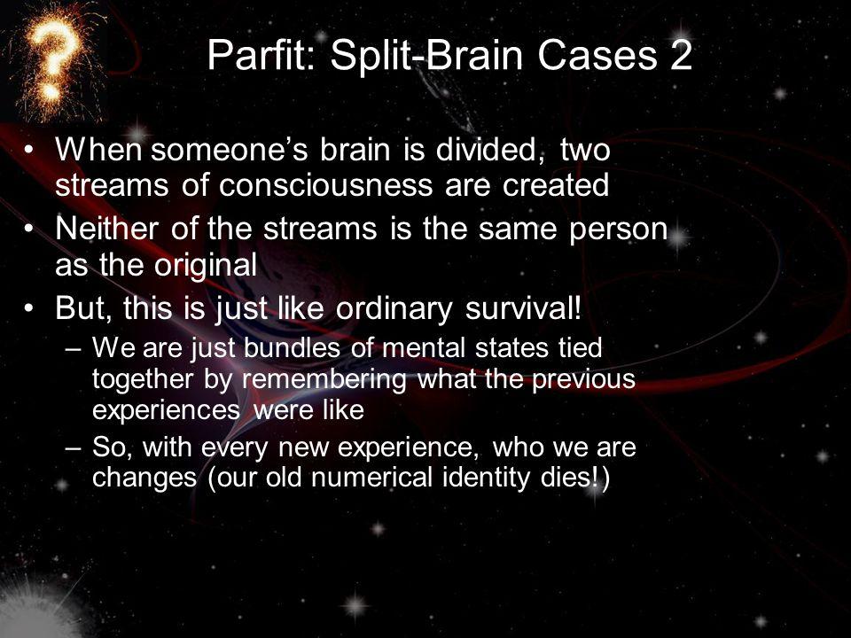 Parfit: Split-Brain Cases 2