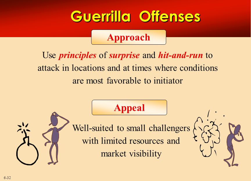 Guerrilla Offenses Approach Appeal
