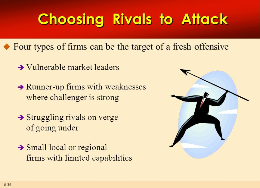 Choosing Rivals to Attack