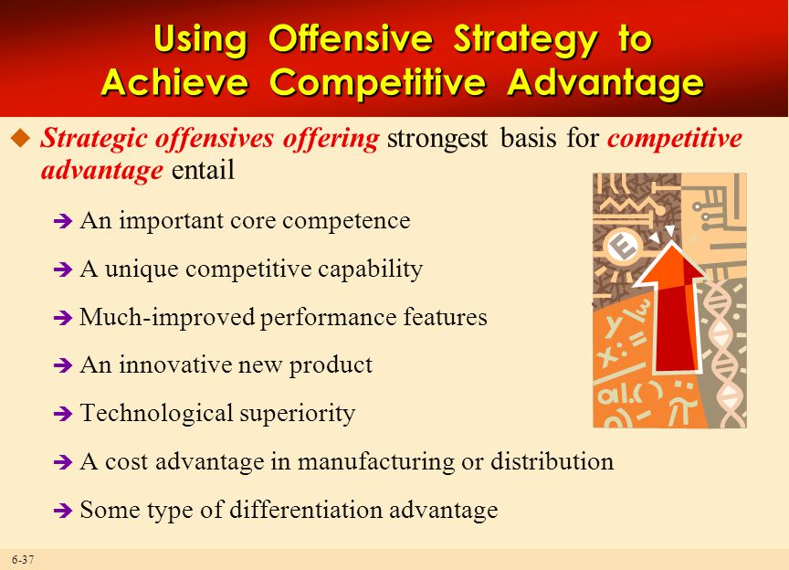 Using Offensive Strategy to Achieve Competitive Advantage