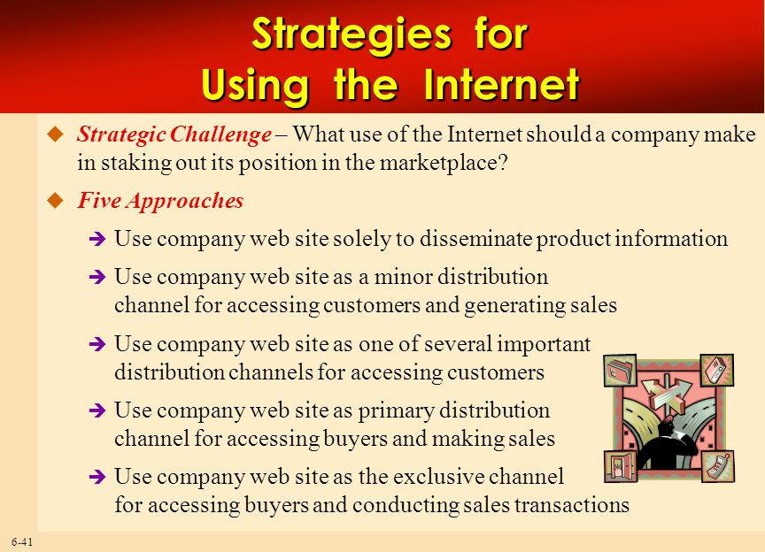 Strategies for Using the Internet