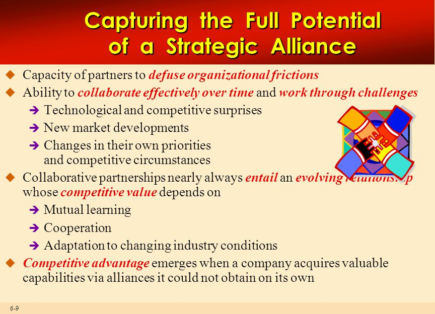 Capturing the Full Potential of a Strategic Alliance