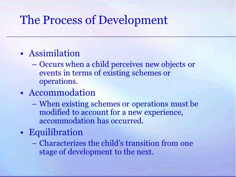 The Process of Development