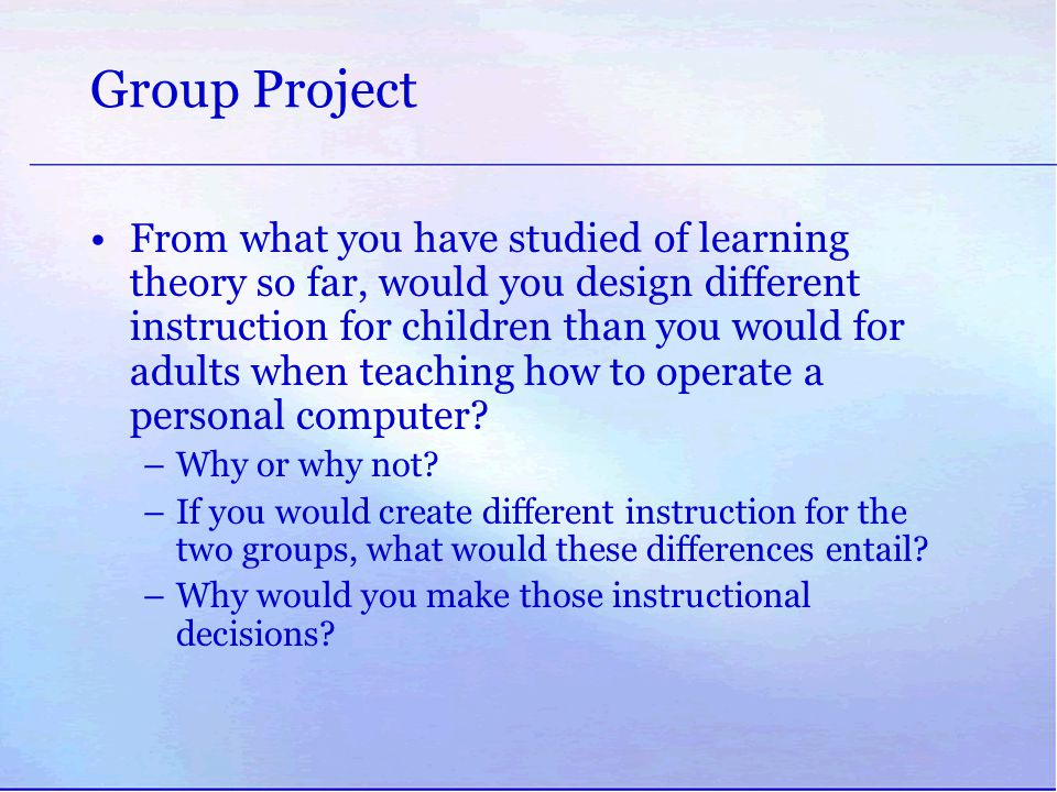 Group Project