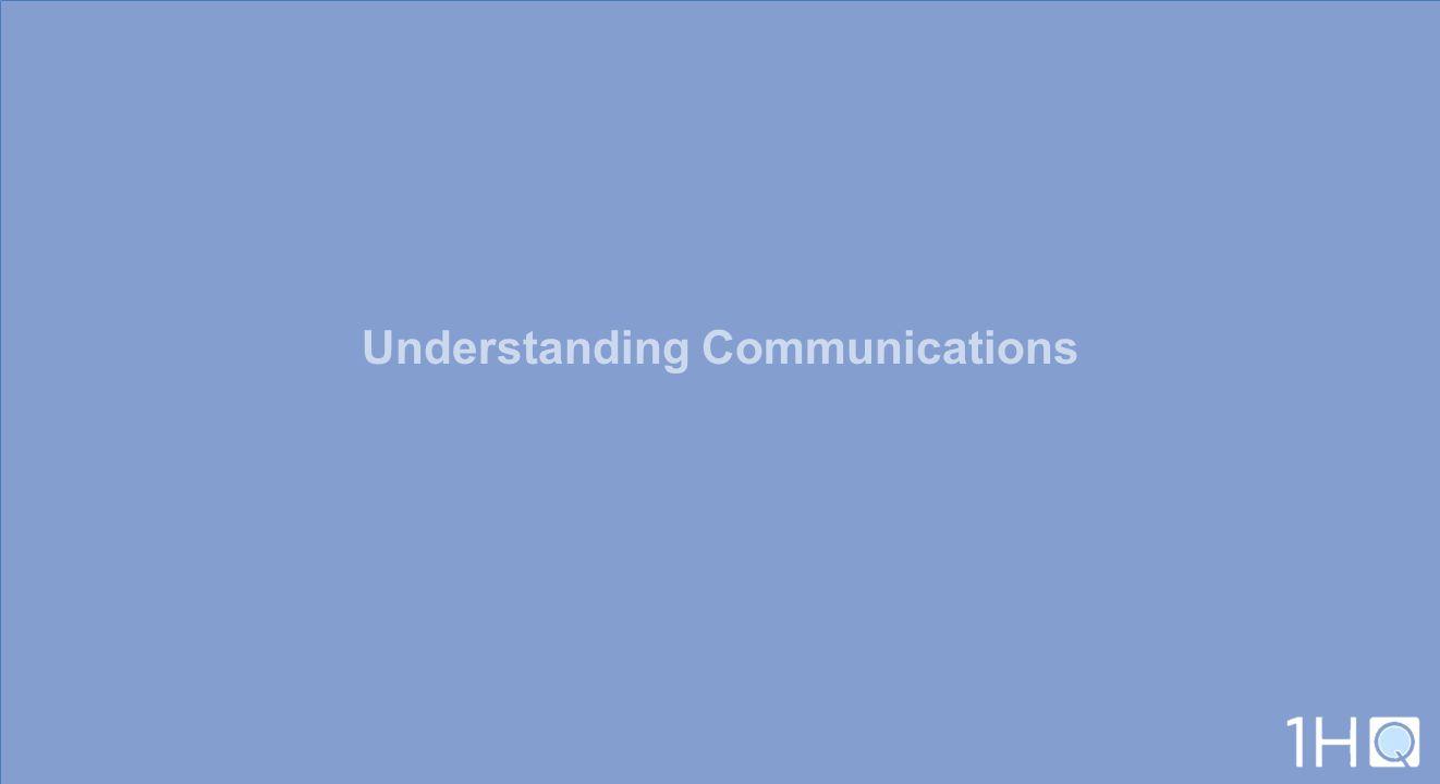 Understanding Communications