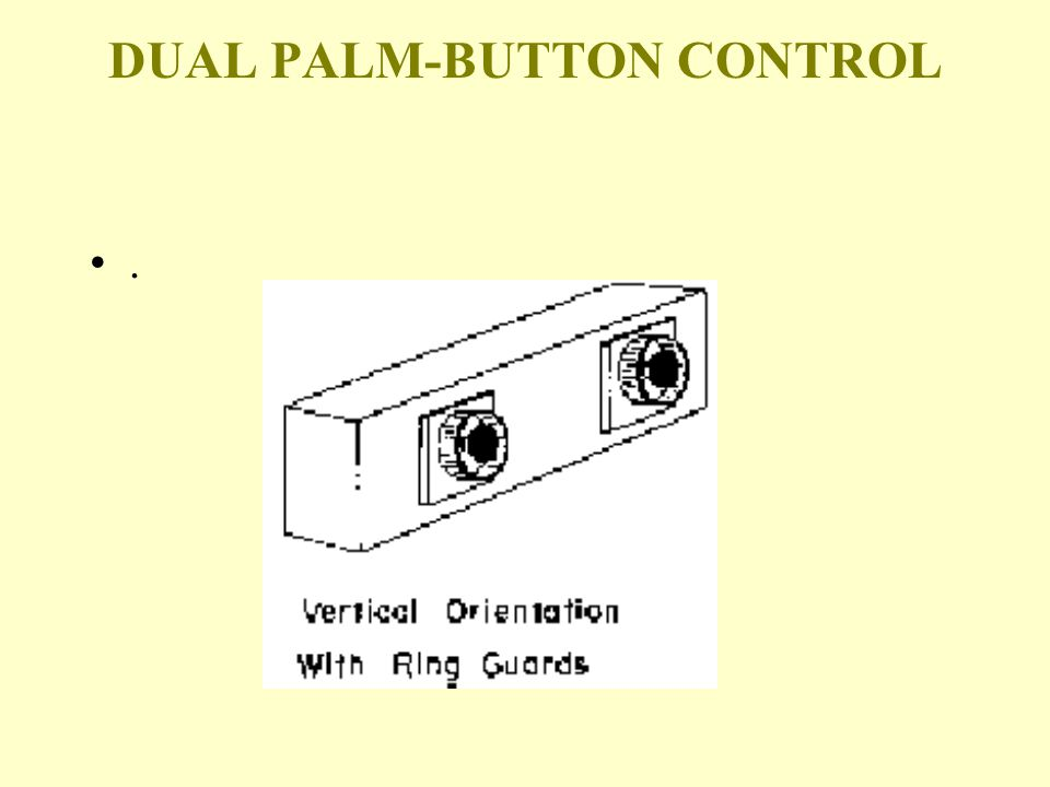 DUAL PALM-BUTTON CONTROL