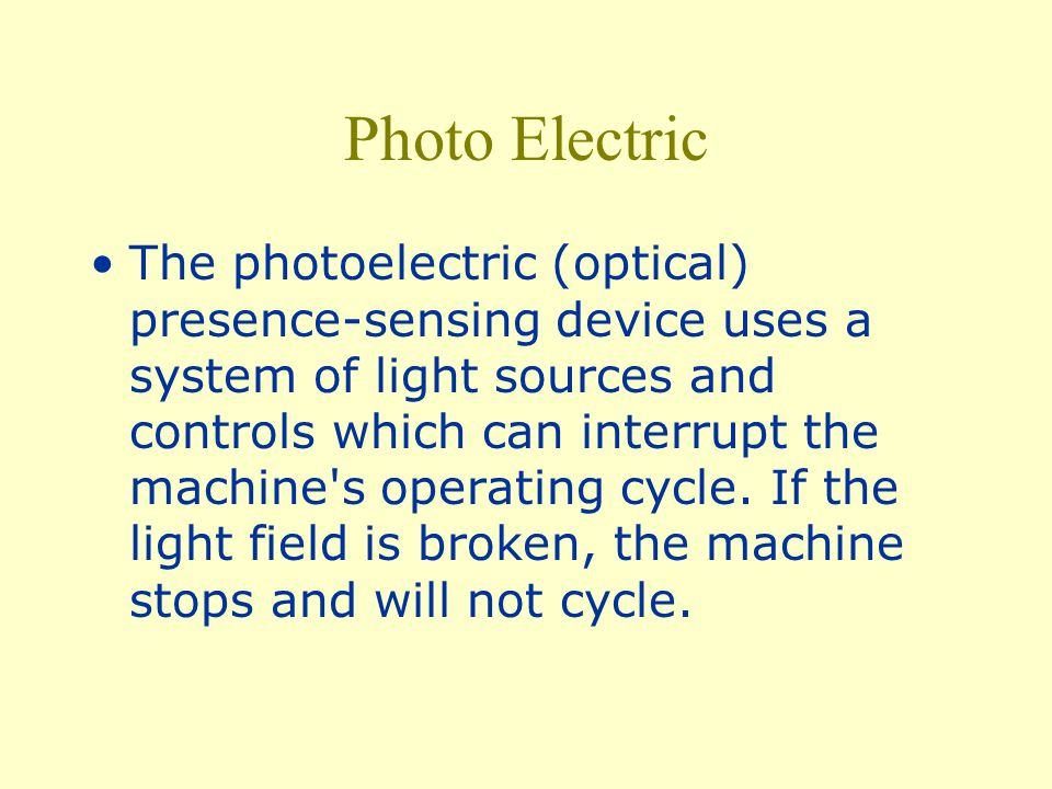Photo Electric