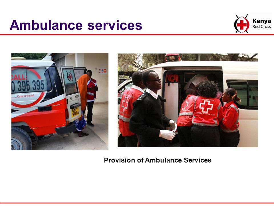Provision of Ambulance Services