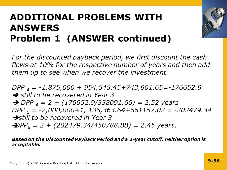 ADDITIONAL PROBLEMS WITH ANSWERS Problem 1 (ANSWER continued)
