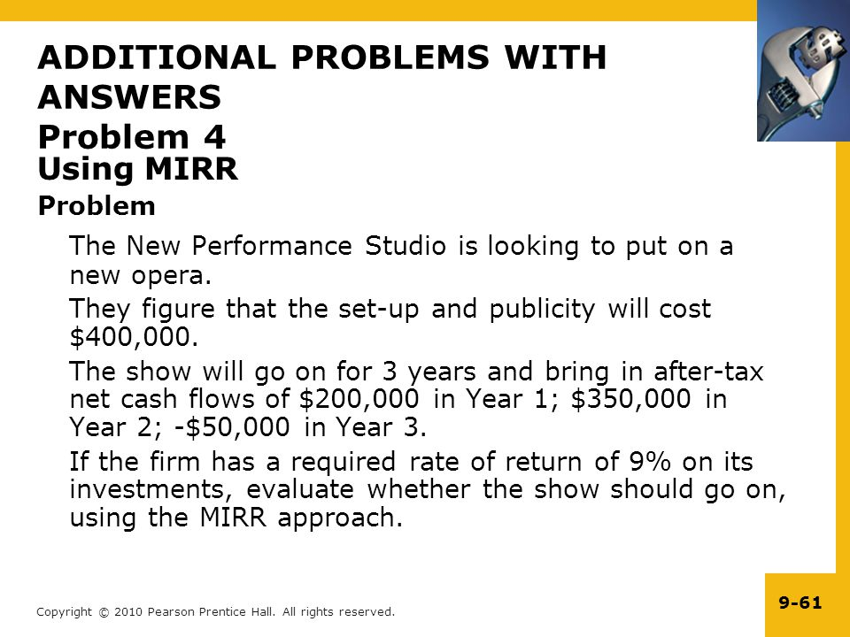 ADDITIONAL PROBLEMS WITH ANSWERS Problem 4