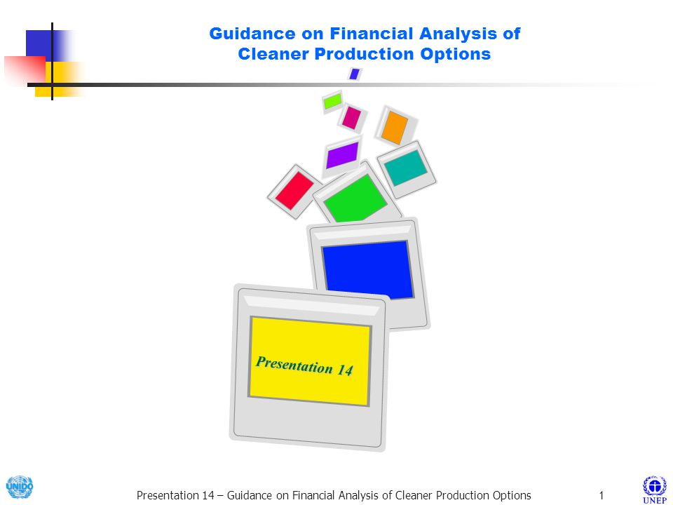 Guidance on Financial Analysis of Cleaner Production Options
