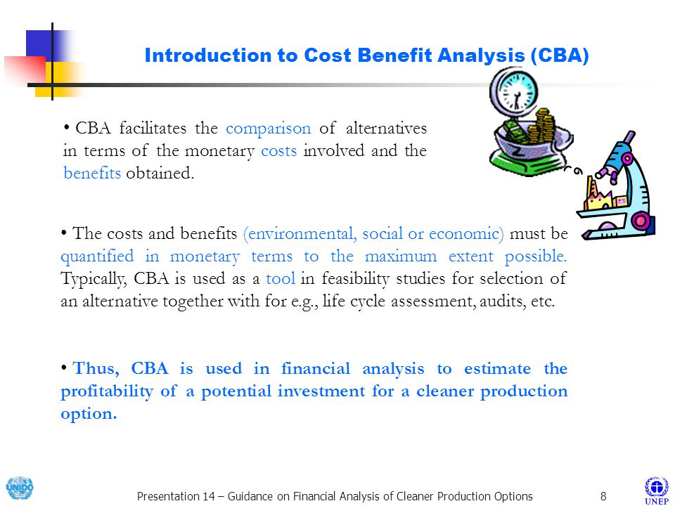 Introduction to Cost Benefit Analysis (CBA)